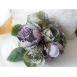 Selyemvirág rózsa és peónia