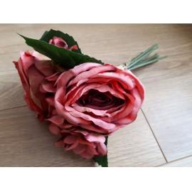 Hortenzia-rózsa csokor