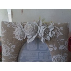 Rózsás asztali keret